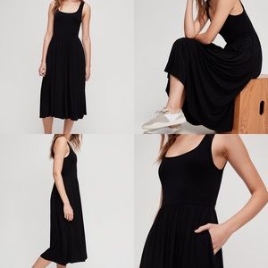 Aritzia // Wilfred Assonance Midi Tank Dress